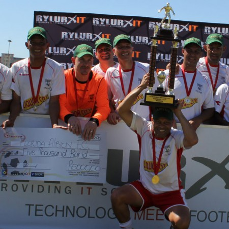 Over40 Legacy Cup 2014 Champions - Florida Albion Vets Team